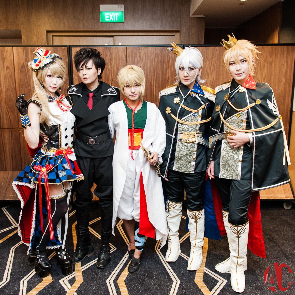 AFA SG Hyko, Kazumi Noomi, Mon, Hana & Baozi (3)