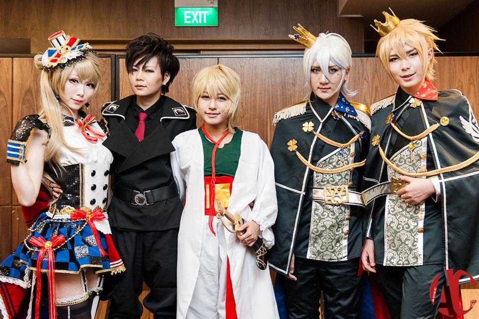 AFA SG Hyko, Kazumi Noomi, Mon, Hana & Baozi (4)