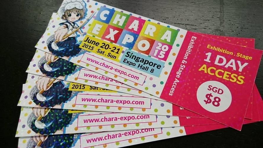 Chara Expo Tickets