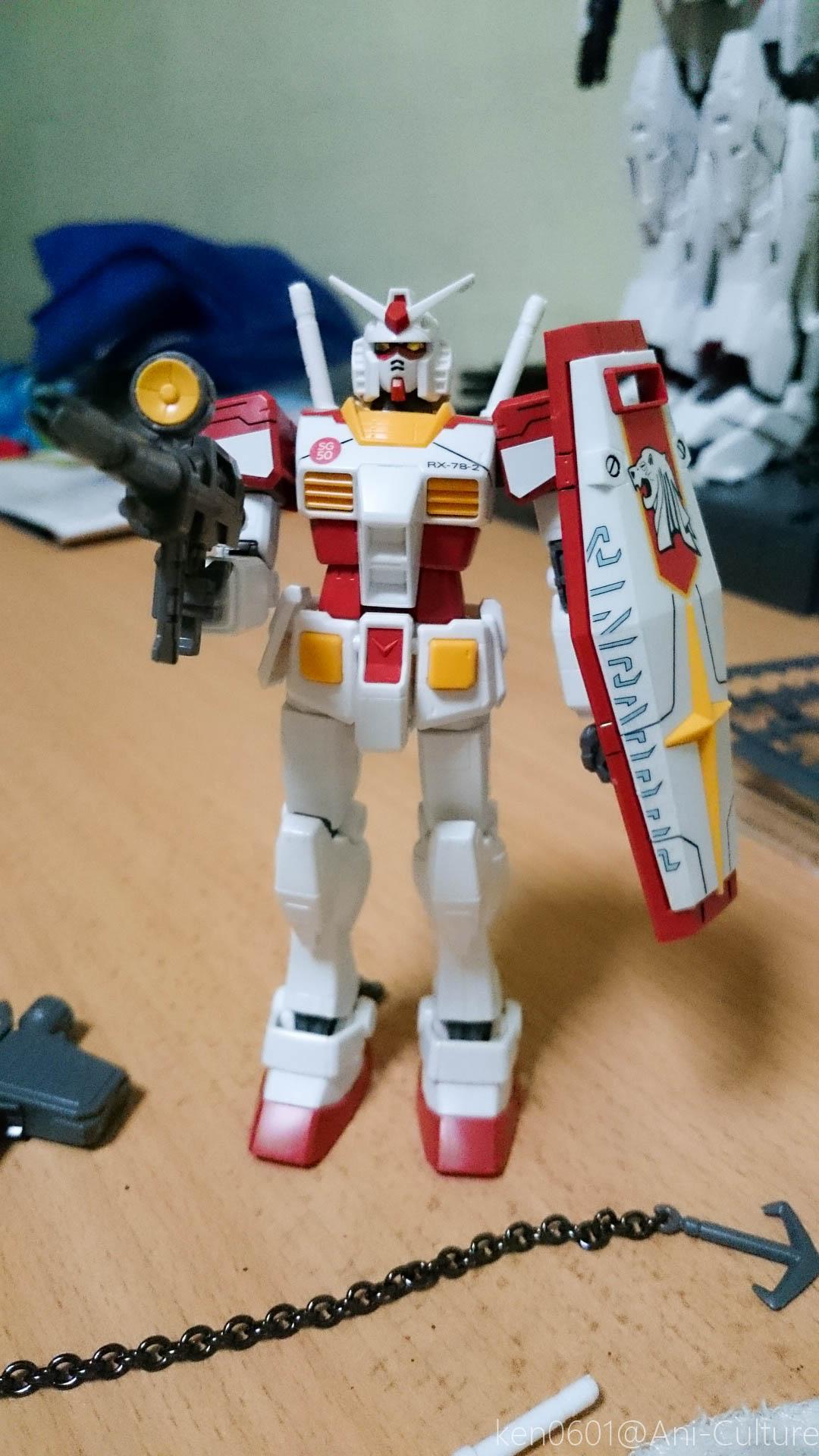 SG50 HG RX-78-2 Gundam
