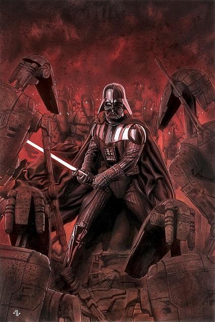 Adi Granov - Darth Vader (C) Singapore Toy Game & Comic Convention STGCC 2015