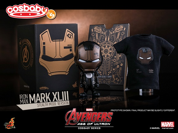 Hot Toys - Avengers - Age of Ultron - Mark XLIII (Stealth Mode Version) ...